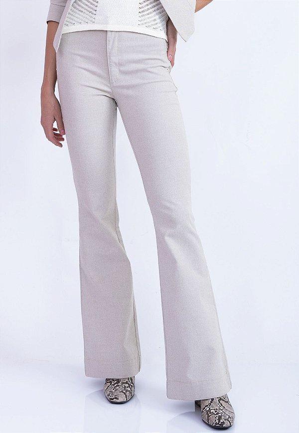Calça Mengan Jeans Bana Bana flare