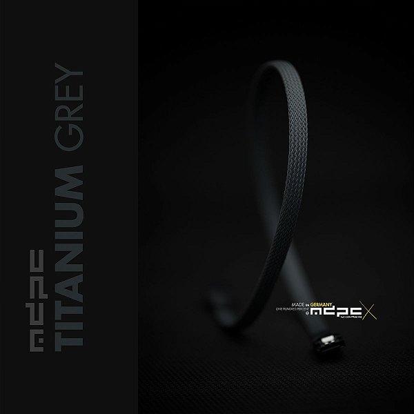 Sleeve SATA - Titanium Grey - 1m