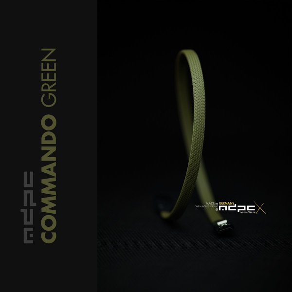 Sleeve SATA - Comando Green - 1m