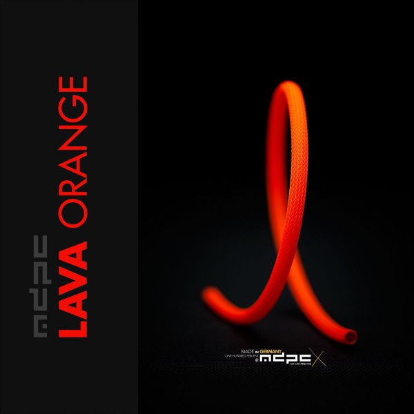 Sleeve SATA - Lava Orange - 1m