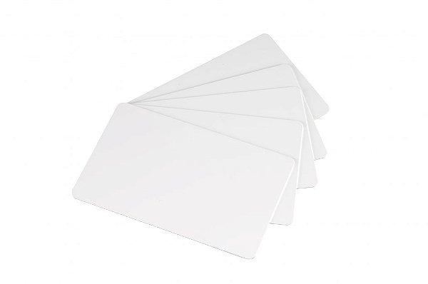 Cartão em PVC Branco CR80 para Impressão
