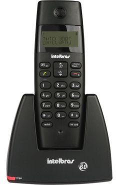 Telefone Intelbras TS40 ID s/ Fio Preto