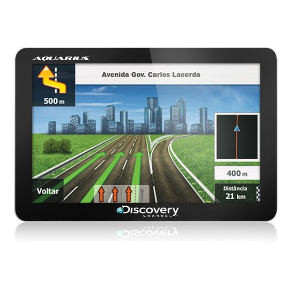 "GPS Discovery Channel MTC2420 4,3"" Slim"