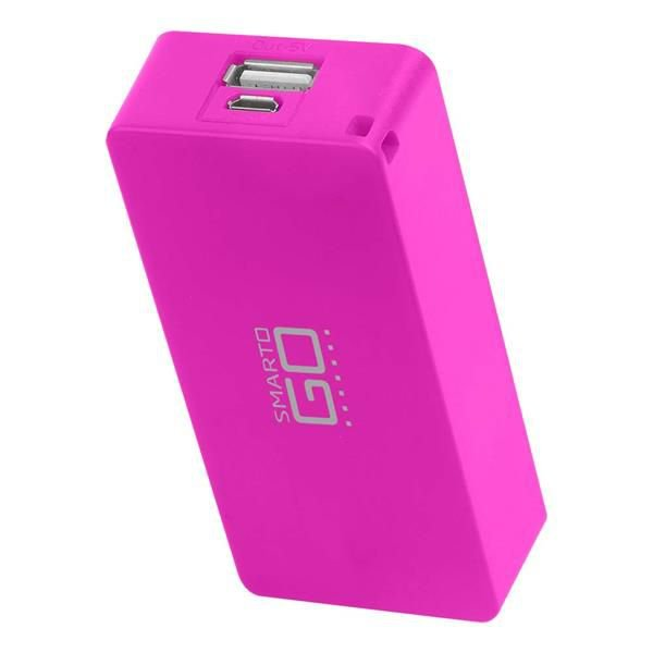 POWER BANK MULTILASER CB097 4000mah ROSA
