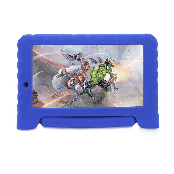 Tablet Multilaser Disney Vingadores NB280 1GB Ram 8GB Azul