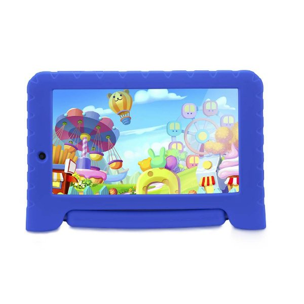 "Tablet Multilaser Kit Pad Plus 7"" NB278 512Mb Ram 8GB Azul"