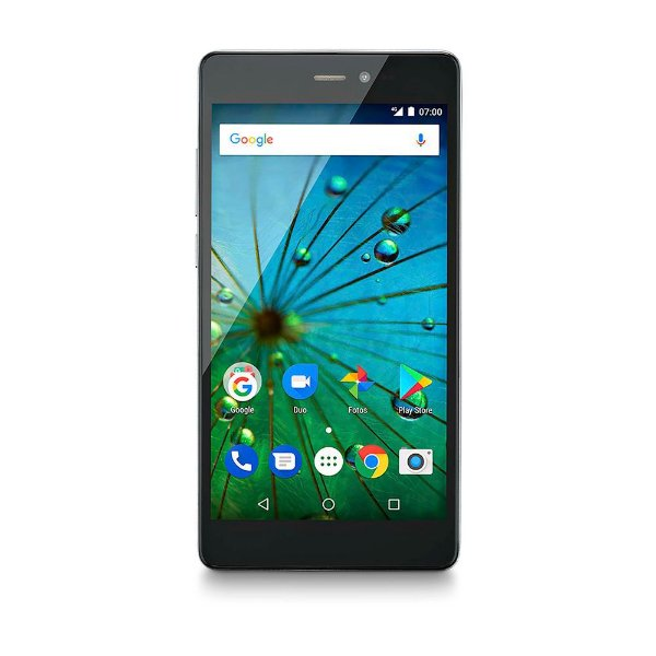 Smartphone Multilaser MS60F Plus P9057 16gb Preto/Prata