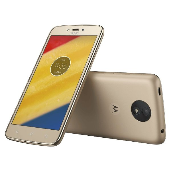 Smartphone Motorola Moto C Plus XT1726 16GB Ouro