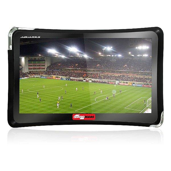Gps Quatro Rodas  MTC4374 4,3'' Com Tv Digital