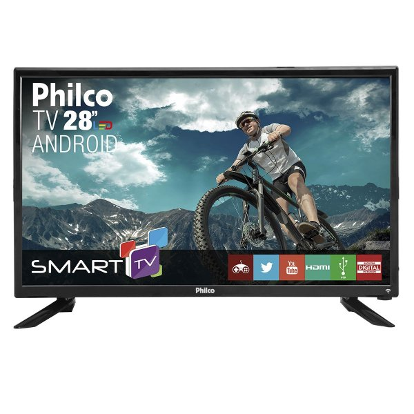 "Smart TV Philco 28"" PH28N91DSGWA"