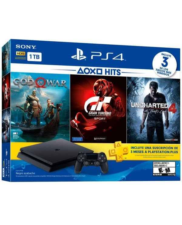 Console Playstation IV Slim Bundle Hits CUH-2115B 1 TB