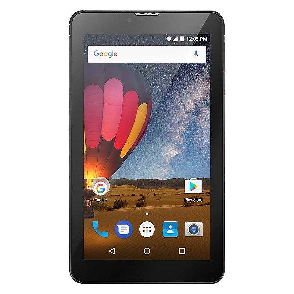 "Tablet Multilaser M7 Plus 7"" NB269 1GB Ram 8GB Preto"