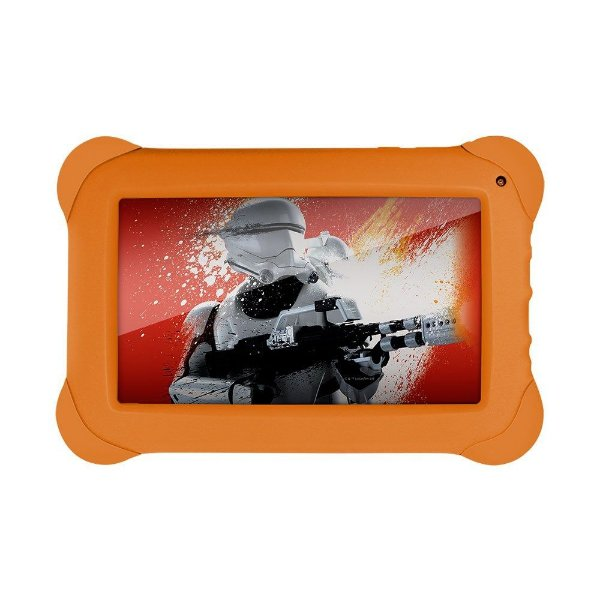 "Tablet Multilaser Disney Star Wars 7"" NB238 512Mb Ram 8GB Laranja"