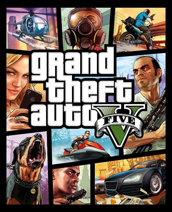 Jogo Grand Thef Auto V PS4