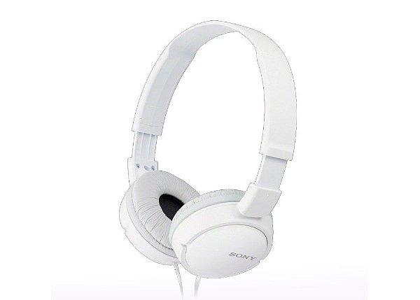 Fone Headfone Sony MDR-ZX110 Branco