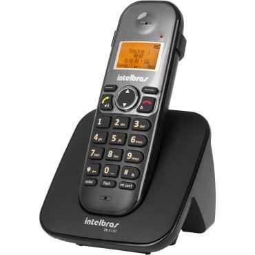 Telefone Intelbras TS5120 s/ fio Preto