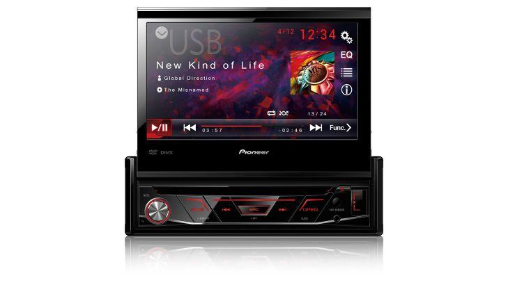 """DVD Player Pioneer AVH-3880DVD 7"""""""