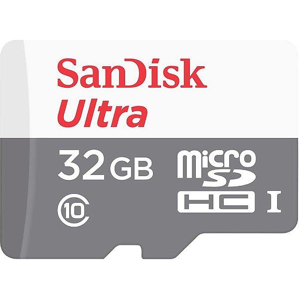 Cartão de Memoria Sandisk Micro SD 32gb Ultra Classe 10