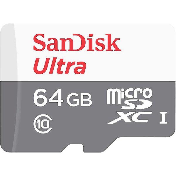 Cartão de Memoria Sandisk Micro SD 64gb Ultra Classe 10