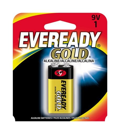Bateria Eveready Gold 9V A522BP