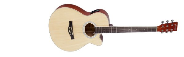 Violão Giannini Performance Eletrico GNF-1R Natural Brilhante
