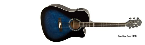 Violão Giannini Performance Eletrico GF-1R Dark Blue Burst