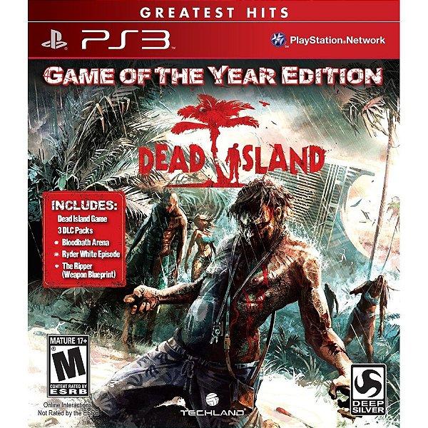 Jogo Dead Island GOTY Edition PS3