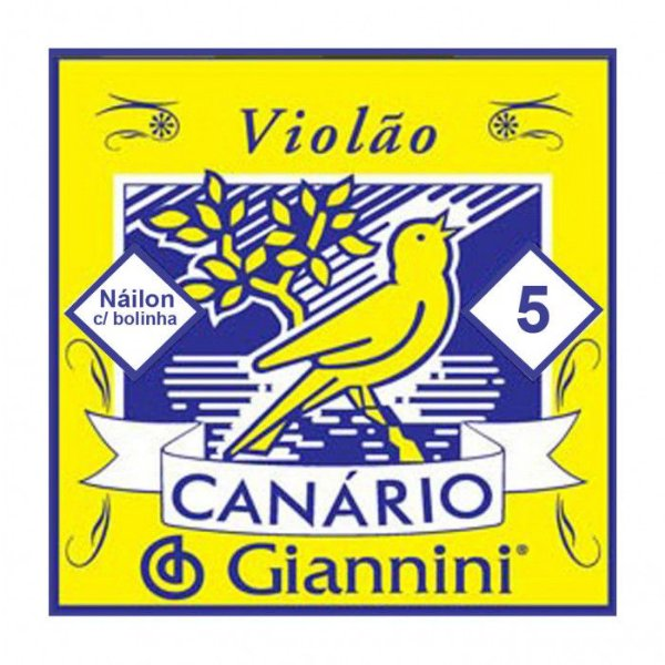 5ª Corda de Violão Canario Nylon GENWB5