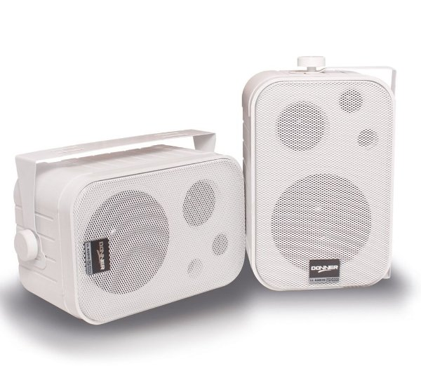 Caixa de Som LL SP400 p/ Som Ambiente Branca (par)