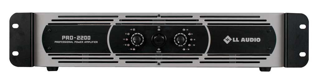 Amplificador de Potência LL PRO-2200