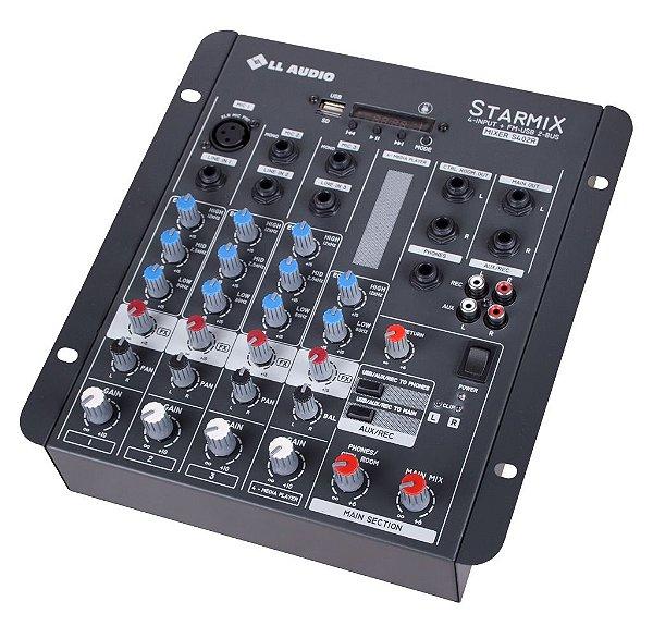 Mesa de Som LL Starmix S402R BT