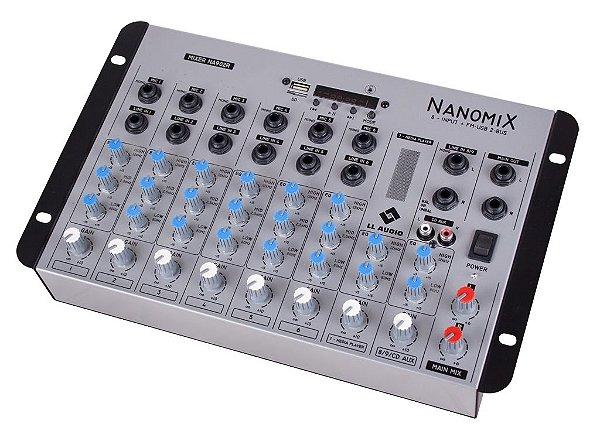 Mesa de Som LL Nanomix NA902R BT