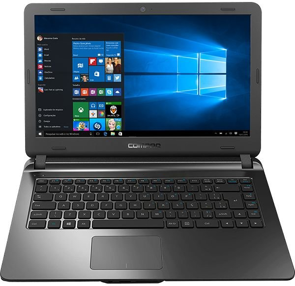 "Notebook Compaq CQ31 14"" Preto"