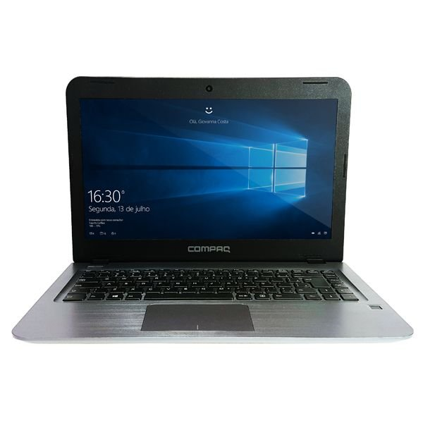 "Notebook Compaq CQ17 14"" 4gb 500gb Preto"