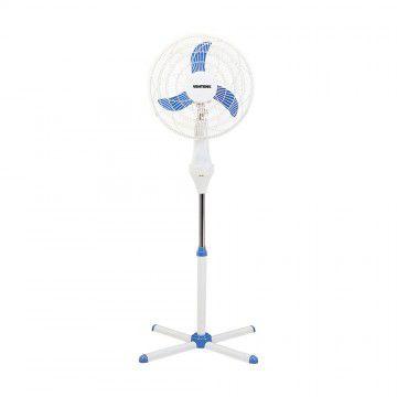 Ventilador Ventisol 40cm Coluna Notos 3 Pas Branco/Azul