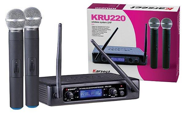 Microfone Karsect KRU-220