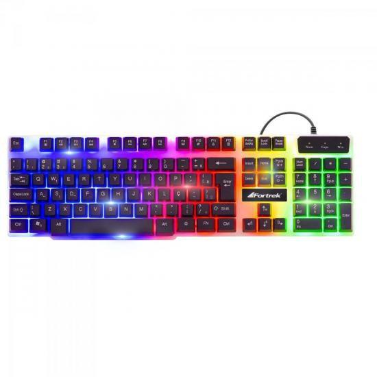 Teclado Gamer Fortrek GK-710 Chromatic
