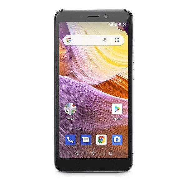 Smartphone Multilaser MS50G  P9510 8GB + 32GB Prata/Preto