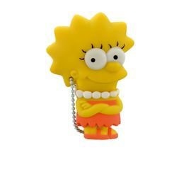 "PenDrive Multilaser PD072 8gb Simpsons ""Lisa"""