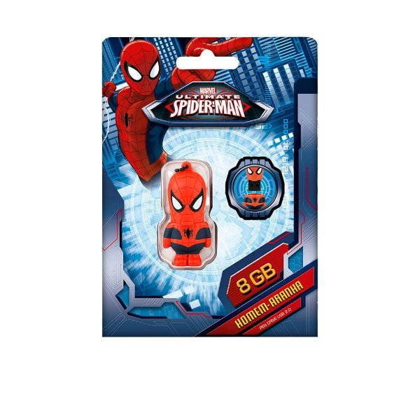 "PenDrive Multilaser PD084 8gb Marvel ""Spider-Man"""