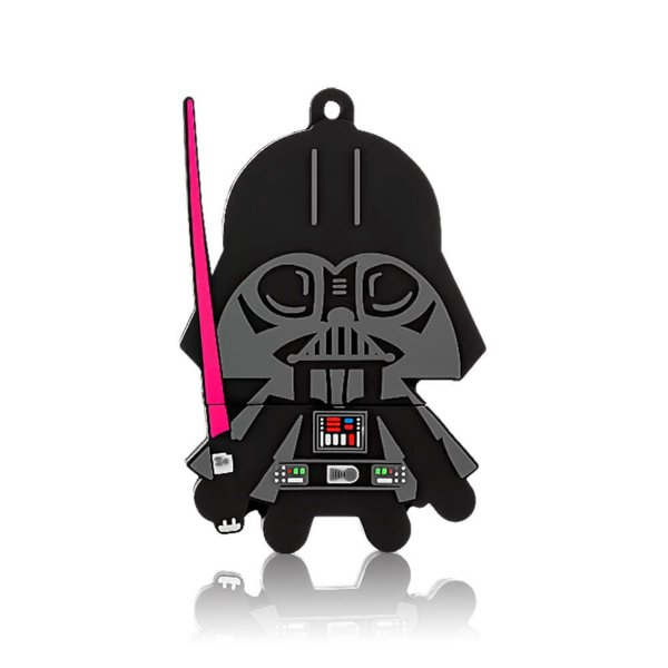 "PenDrive Multilaser PD035 8gb Disney Star Wars ""Darth Vader"""