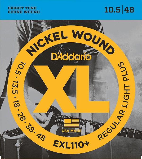 Encordoamento de Guitarra D'Addario EXL110+