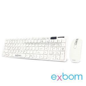 Teclado + Mouse Exbom BK-S1000 sem Fio