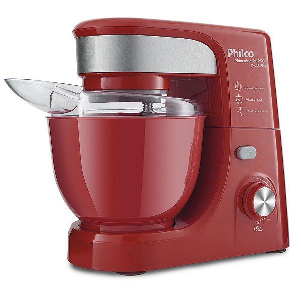 Batedeira Planetária Philco PHP500 Vermelha 500W