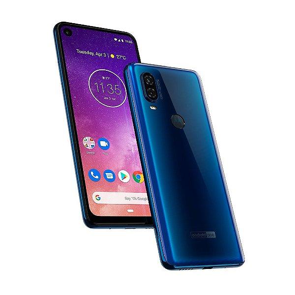 Smartphone Motorola Moto One Vision XT1970 128gb Azul Safira