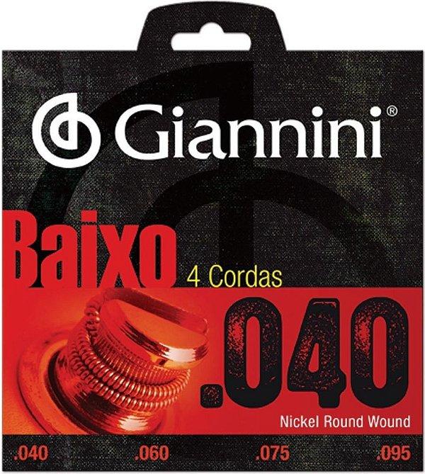 Encordoamento de Baixo Giannini GEEBRL4
