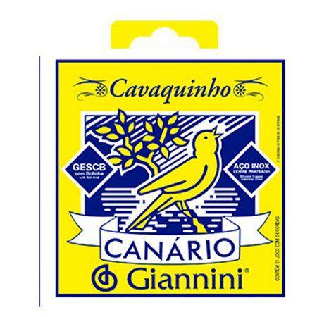 Encordoamento de Cavaquinho Canario GESCB