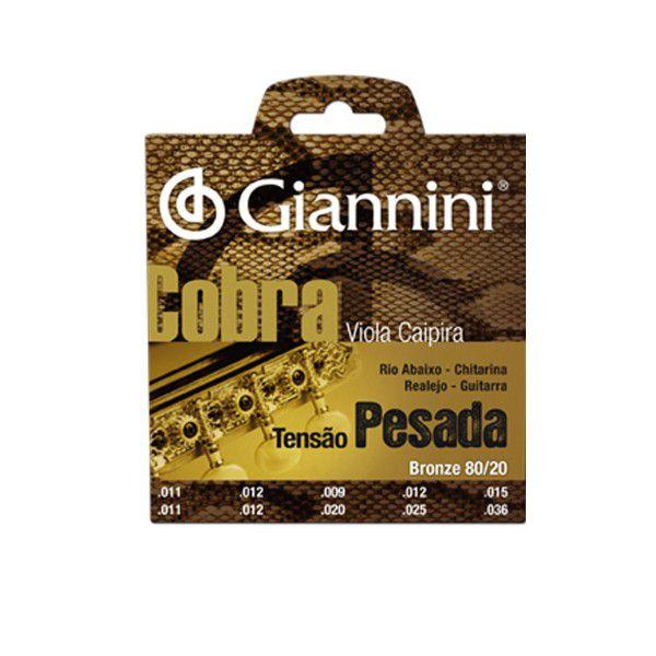 Encordoamento de Viola Giannini CV82H