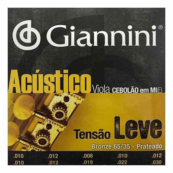 Encordoamento de Viola Giannini GESVAL