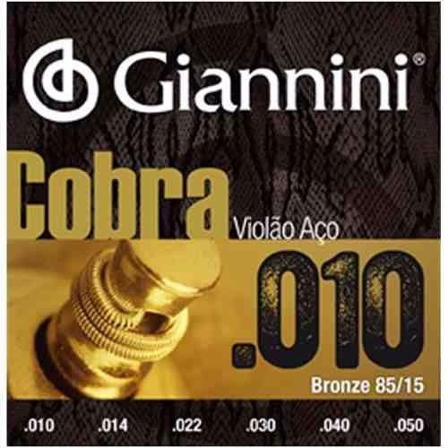 Encordoamento de Violão Giannini  GEEFLE .010